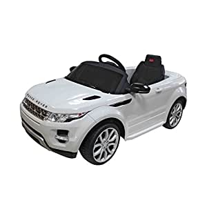 Aosom 12V Land Rover Evoque Kids Electric Ride On Car with MP3 and Remote Control - White