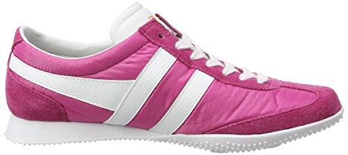 Sneaker Nylon Fuchsia White 8 Gola Wasp Size Suede M Women's 4gqw67a