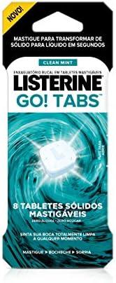 Go Tabs 8 Unidades, Listerine