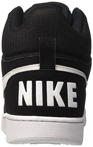 Homme Court Chaussures Mid Sport Basketball de Borough 42 Nike Gris Blanc Blanc EU Noir 0dTwZxx