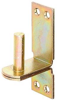GAH-Alberts 311506 Kloben auf Platte /Ø20 mm DII-Haken 189 x 60 mm // 1 St/ück feuerverzinkt