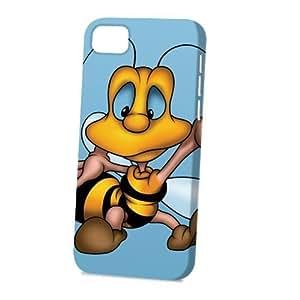 Case Fun Apple iPhone 5C Case - Vogue Version - 3D Full Wrap - Bee Cartoon