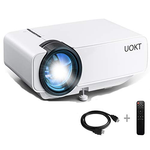 UOKT 2400 Lux LED Portable Projector