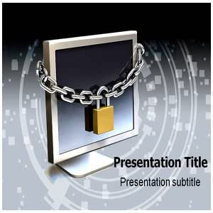 Computer Security Lock Powerpoint Templates - Computer Security Lock (PPT) Powerpoint Templates