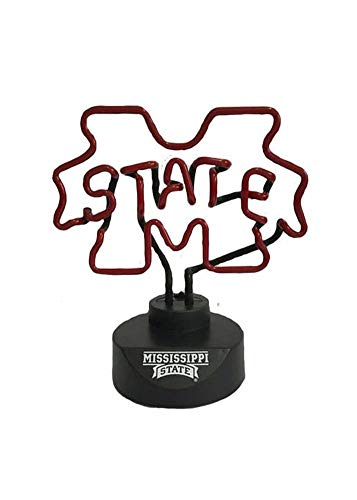 Memory Company NCAA Mississippi State University Col-Mss-1808Neon Lamp, Multi, One Size ()