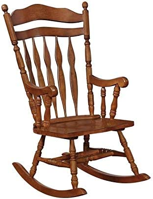 BOWERY HILL Windsor Traditional Rocking Chair