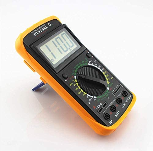 LKK-KK Digital Multimeter Handheld Multifunction Electrical Instrumentation Tester Pen Resistor Capacitance DC AC Measurement