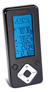 Honeywell TE532ELW Long Range Weather Forecaster with Humidity and Atomic Clock