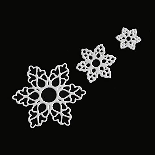 Hot Sale! Hongxin Metal Cutting Dies Layered Sharpe Flower Dies Cut Decorate Scrapbooking Embossing Stencil DIY Album Card Craft Dies Creative Gift For Her by Hongxin (Image #2)