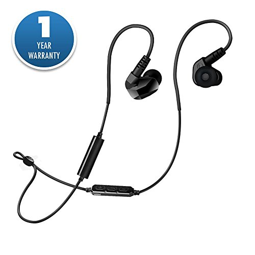 Bluetooth Headphone Wireless Headset with Microphone Sweat Proof Compatible with Iphones IPads Samsung and other Android Devices | Stereo Sound Quality By Acid - Green And 13s Black