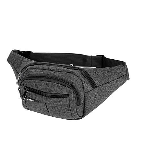- DDKK bags Multipurpose Fashion Waist Packs,Waterproof Bum Waist Bag,Leisure Chest Bag,for Outdoor Sport,Running,Hiking,Riding,Biking