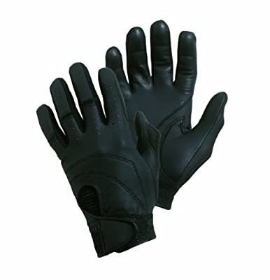 Bob Allen Black Deluxe Shooting Gloves