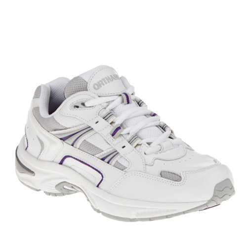 Vionic Womens Walker Classic Shoes Bianco / Viola