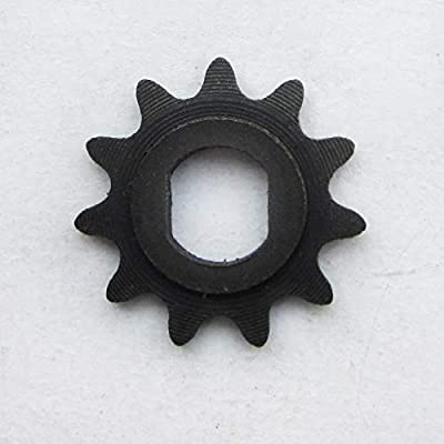 WhatApart 11 Tooth Sprocket (Dual D-bore, use T8F Chain) for MY1020 Electric Scooter Motors : Sports & Outdoors