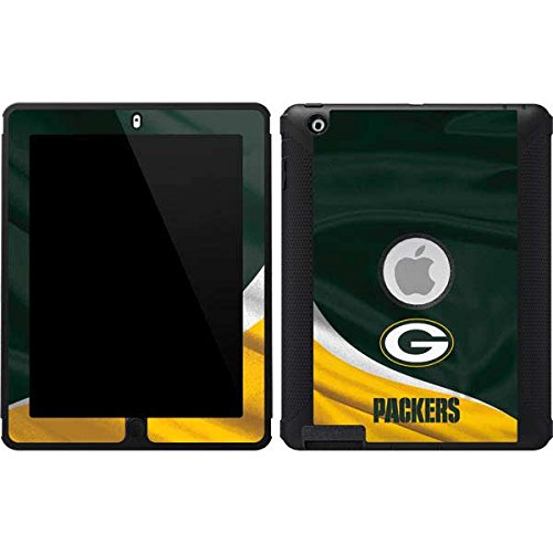 Skinit Green Bay Packers OtterBox Defender iPad 2/3/4th Gen Skin for CASE - Officially Licensed NFL Skin for Popular Cases Decal - Ultra Thin, Lightweight Vinyl Decal Protection