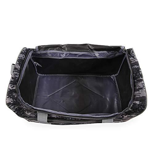 41LTTfrV91L - Fila Source Sm Travel Gym Sport Duffel Bag, Black Digi Camo