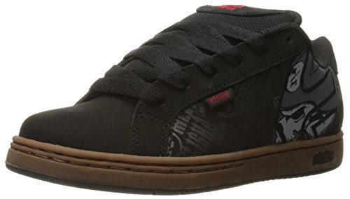 Etnies Men's Metal Mulisha Fader Skateboarding Shoe, Black/Gum/Grey, 11 M US