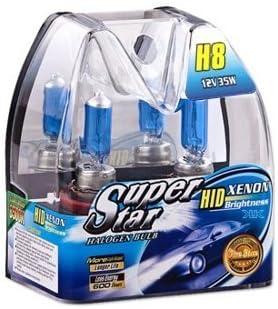 Unbekannt H8 Xenon Optik Halogen Lampen 8500k Super White Birnen Auto