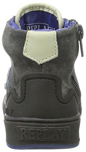 Hohe Ch INXS Replay Grau Sneaker Grey Jungen PTnq1E