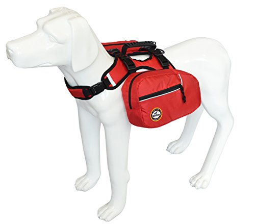 WALKKING WAYS Dog Backpack Hiking Carrier Camping Gear Trave