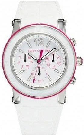 Juicy Couture Hrh White Dragon Fruit Chronograph Ladies Watch
