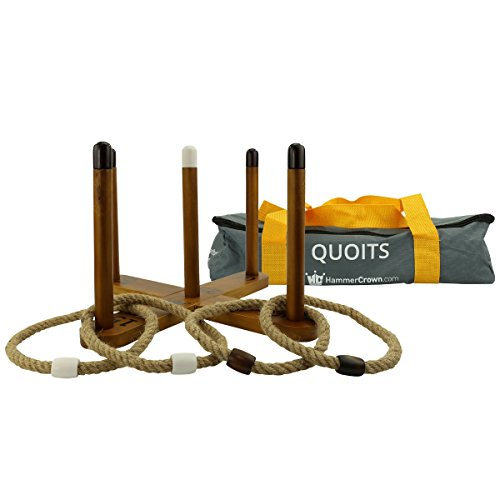 Hammer Crown Quoits Ring Toss Game -