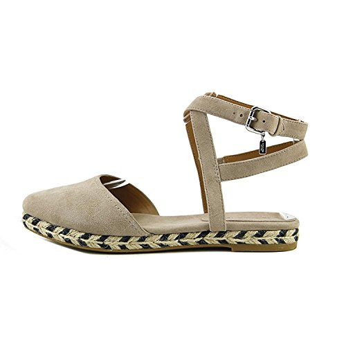 Suede Toe Pointed Ozzie Strap Stone Ankle Casual Coach Womens Sandals qtEtI