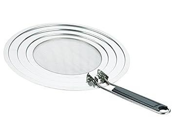 antisalpicaduras de acero inoxidable con mango plegable – y eliminar grasa de cocina Mejor Pantalla antisalpicaduras