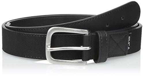 RVCA Men's RESERVOIRE Belt, black S/M