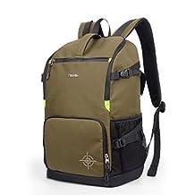 XSY DSLR SLR Camera Bag Photography Backpack Case for Canon Nikon Pentax Color Green