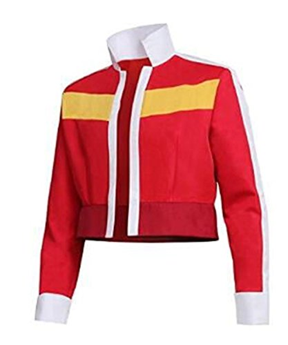 Luyeiand Halloween Men's Jacket for Voltron: Legendary Defender Keith Cosplay Costume by Luyeiand Cosplay