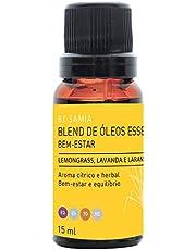 Blend Óleos Bem Estar 15 ml, By Samia, Multicor