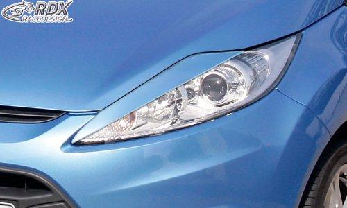 Spoilers de phares Ford Fiesta VII 2008-2012 ABS