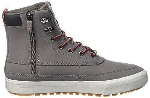 Grey Oakwood Charcoal Uomo Basse Light Supra Gunmetal n0zgCxz4