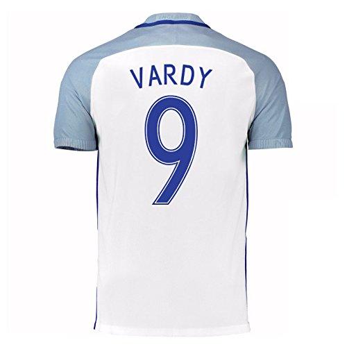 2016-17 England Home Shirt (Vardy 9) B01ERK6HPU