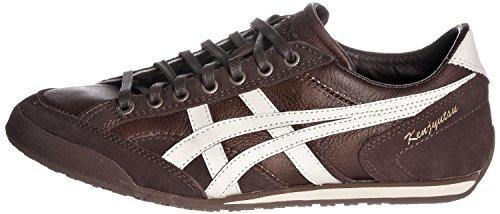 Asics - Zapatillas de Piel para hombre Marrón Brown