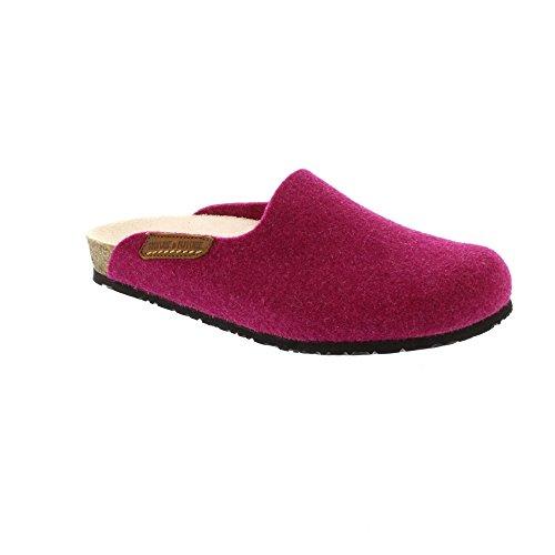 Yin305 Casa Rojo Por Para Estar Mujer De Zapatillas Mephisto PqwXxFdP