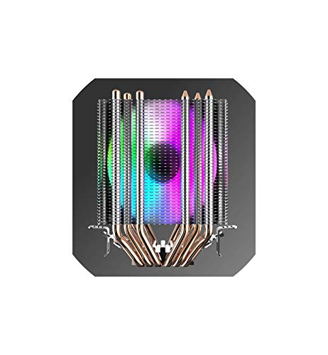 CPU Cooler 6 Heatpipes with 3Pin Fan 90Mm CPU Fan 3 Fans Can Be Ins for Computer 775 / / 2011 / 115X / 1366 Am2 / Am3,1 Fans Cooler ()