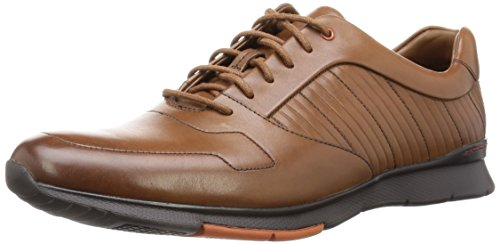 Clarks Tynamo Race Tan Leather E3VJMmHPyS
