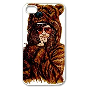Saot Tal Custom Your Own Personalised Workaholics iPhone 4 4S Best Durable Case Cover