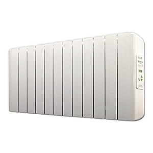farho Radiadores Electricos Bajo Consumo Eco-X • 1500 Watios • TERMOSTATO Digital Programable (7 días / 24 HR) • Radiador Electrico Ideal hasta 19 m2 • 20 AÑOS de Garantía !!! ★★★