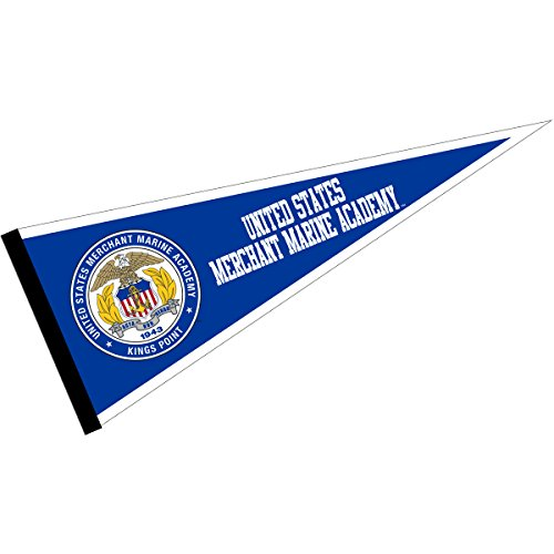 (College Flags and Banners Co. US Merchant Marine Mariners Pennant)