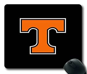 Tennessee Vols on Black Rectangle Mouse Pad by eeMuse