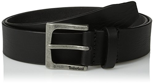 Timberland Men's 35Mm Classic Leather Jean Belt, Black, 42 (Denim Leather Belt)