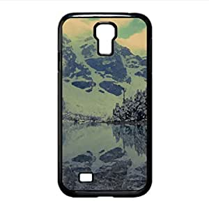 Lake Lorraine 2 - Canada Watercolor style Cover Samsung Galaxy S4 I9500 Case (Lakes Watercolor style Cover Samsung Galaxy S4 I9500 Case)