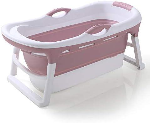 温度検知プラグを持つ大人のバスタブ折り畳み式の、大人のためのバスタブバスバケツ/エルダーSPA太いと耐久性/ロング断熱時間,ブルー,A/with tub lid
