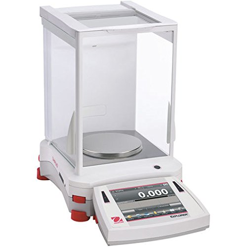 OHAUS 30061979 Model EX223/E Explorer Precision Electronic Balance, 220g Capacity, 1 mg Readability
