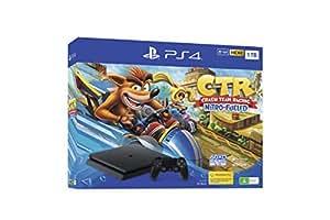 PlayStation 4 Console 1TB Slim Crash Team Racing Bundle
