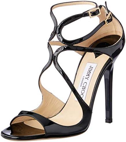 JIMMY CHOO Lance Women's Sandal, Black