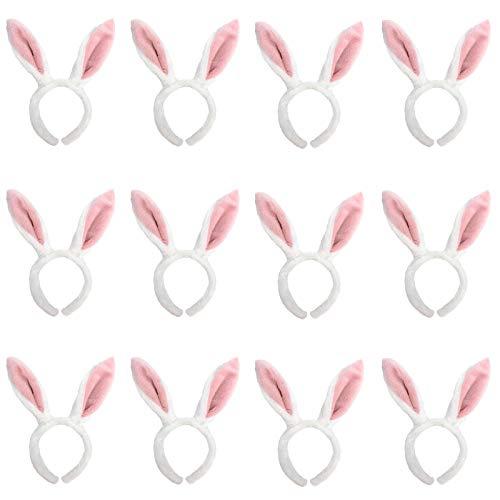 GiftExpress 1 Dozen Bunny Headband/Easter Headband/Bunny Ears/Bunny Ears Headband